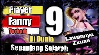 TOP 9 PLAYER FANNY PALING DIKAGUMI S1-S8