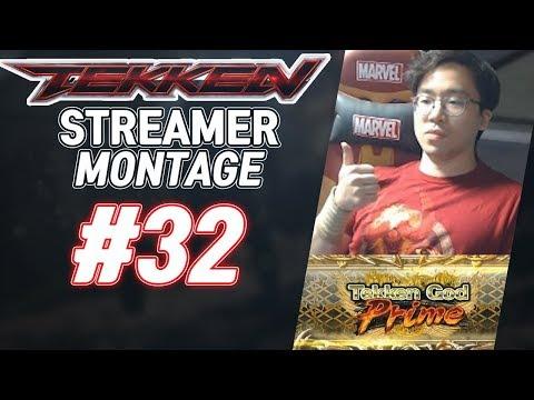 [철권7] #32 세계최초 텍갓프라임 달성 무릎의 따봉 철권스트리머,BJ 하이라이트를 한 곳에! (Tekken MOMENTS OF THE WEEK)