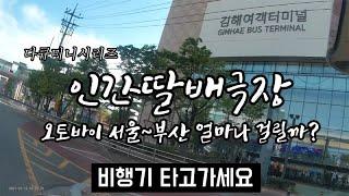 딸배탐구생활 부산특집  300cc 오토바이로 서울~부산…