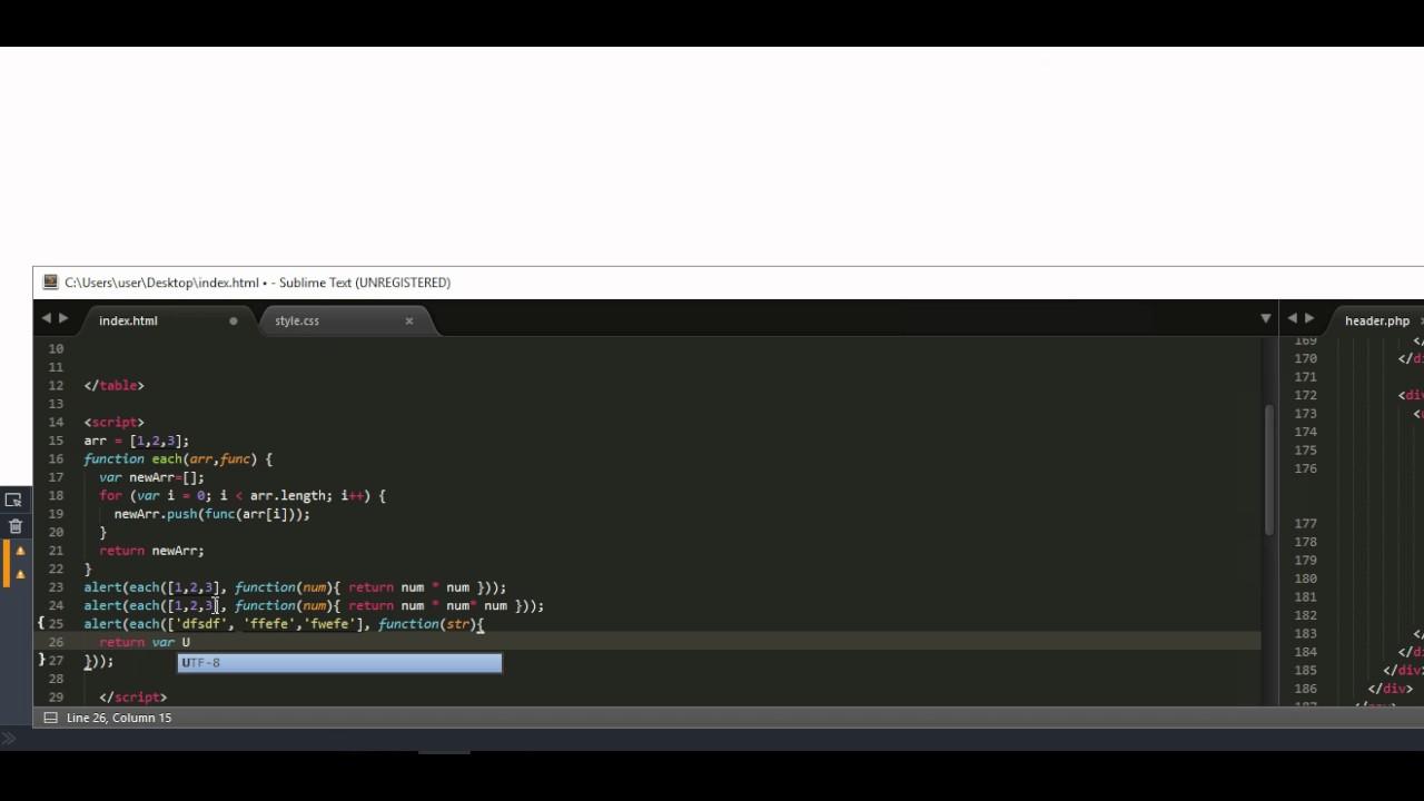 Анонимные функции и замыкания в JavaScript. Часть 2. Трепачёв Д.П. theory.phphtml.net  - «Видео уроки - CSS»