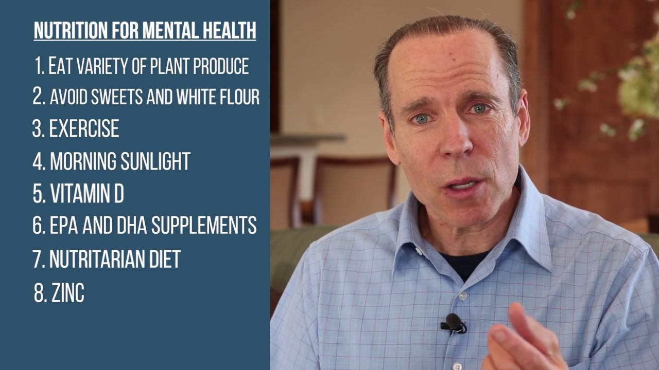 NUTRITION FOR MENTAL HEALTH   Dr. Joel
