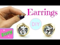DIY Earrings | No tools! Simple DIY