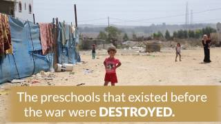 Preschool in Shejaiya, Gaza Gets Rebuilt