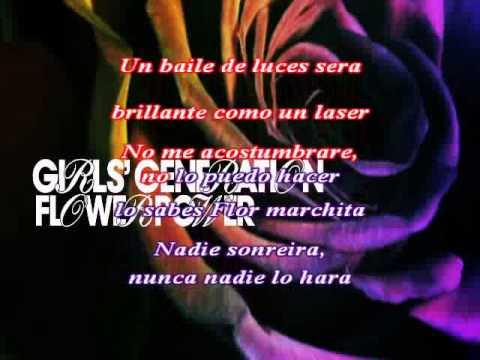 Girls' Generation (소녀시대) - Flower Power [Karaoke español]