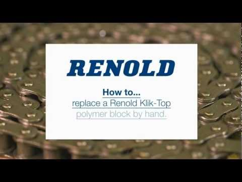How to replace a block on Renold Klik-Top chain