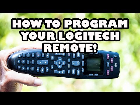 Setup and Program Logitech Remote Control to ANY Device!