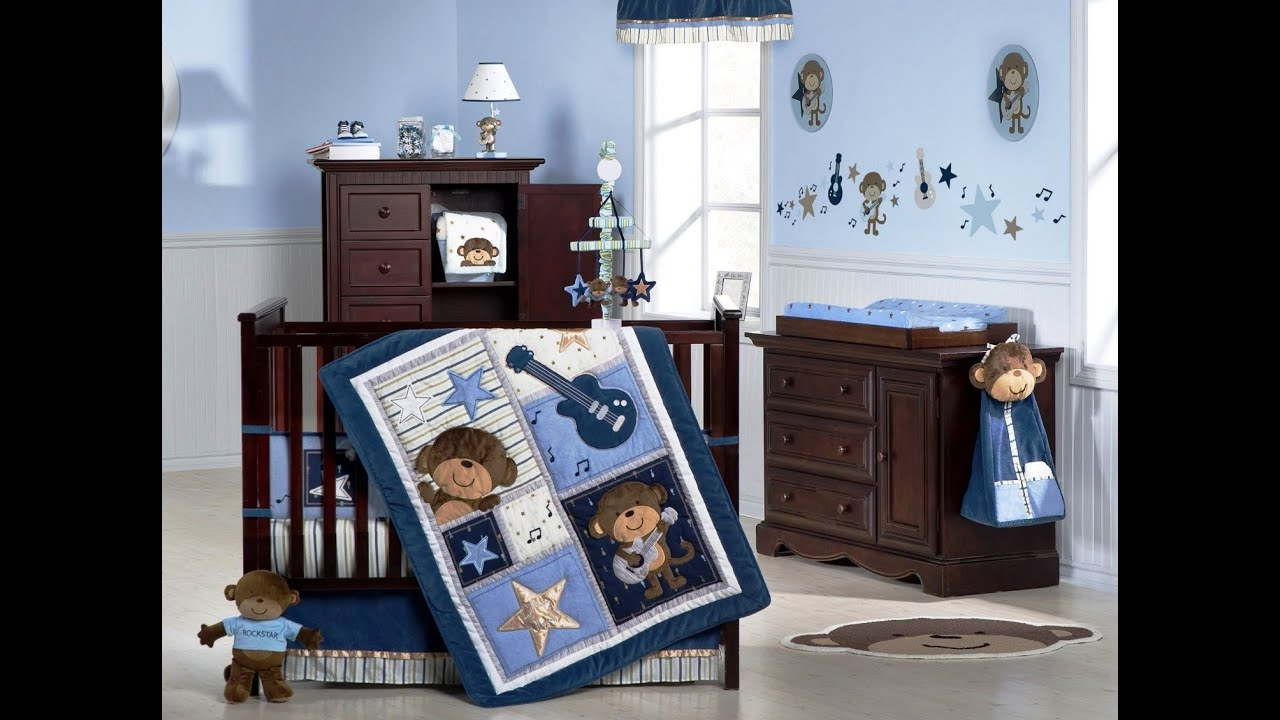 Shocking ideas for baby boy room decor youtube for Baby mural ideas