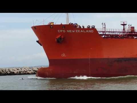 CPO NEW ZEALAND Barco Petrolero del Reino Unido, Río Pánuco, Tampico México
