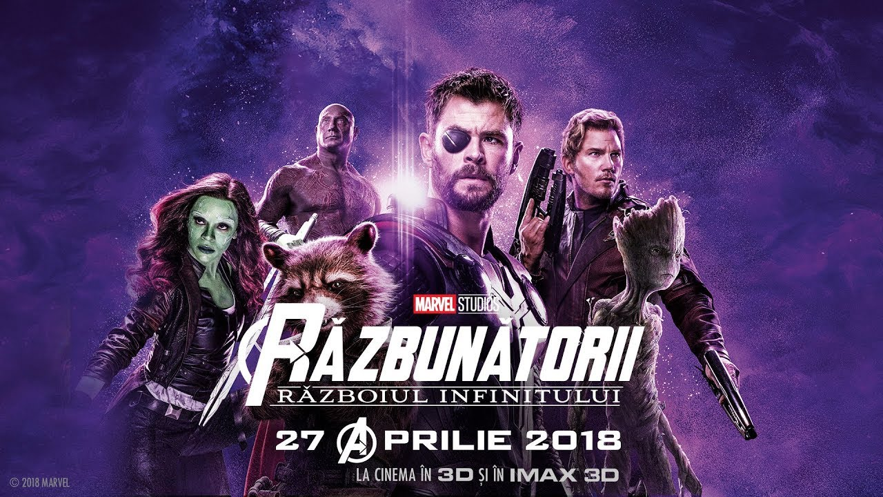 Răzbunătorii: Războiul Infinitului (Avengers Infinity War) - Spot20 - Faces - subtitrat - 2018