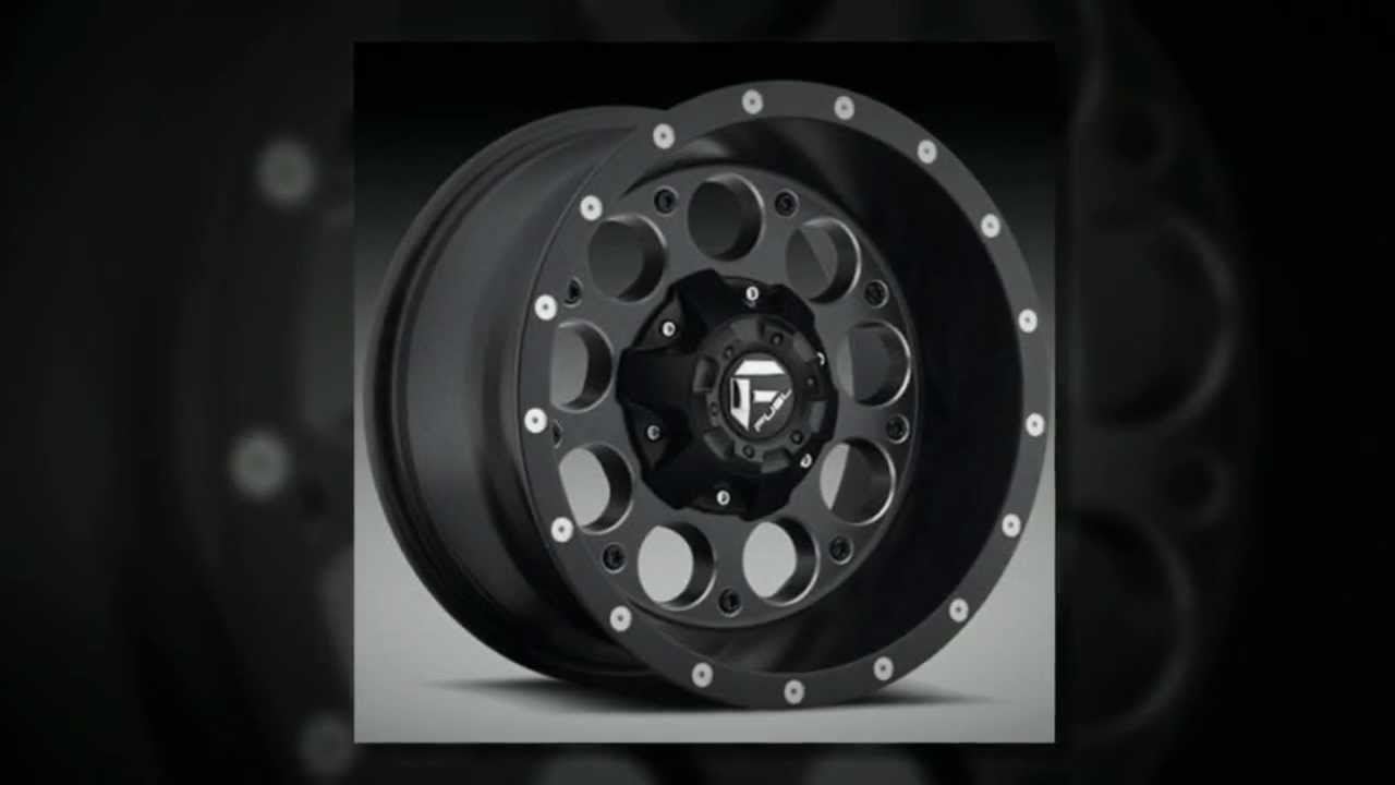 Fuel Off Road Wheels Revolver Black Machined Youtube