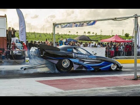 Antigua has the fastest drag car in the Caribbean!!!!