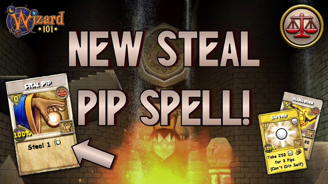 Wizard101: MAX BALANCE PvP (140): *NEW* STEAL PIP Spell!