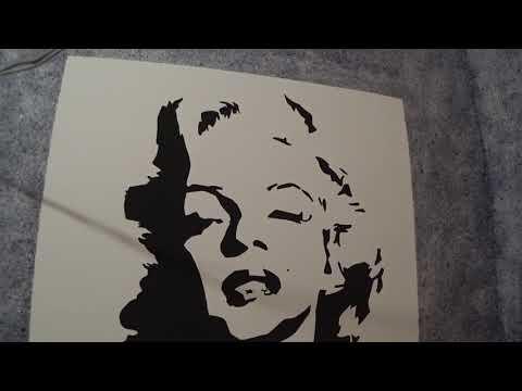 Рисунок на стене без опыта рисования и жидкие обои