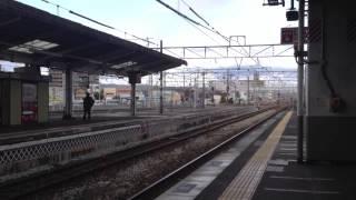 1日1本!倉敷駅の貨物以外の通過列車! thumbnail