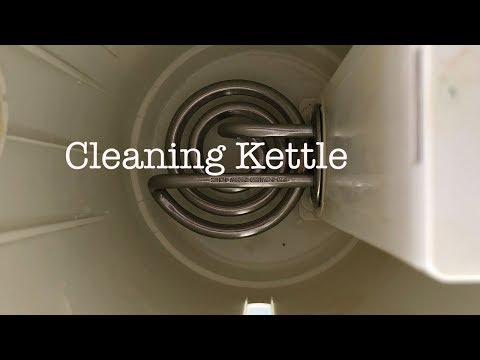 Lifehack : How to clean kettle without using chemical