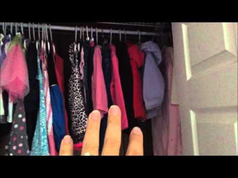 Organizing my kids closets!