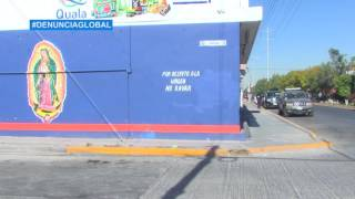 Virgen de Guadalupe pone freno a graffiti en SLP