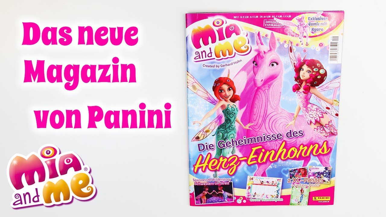 Mia and me Magazin Oktober