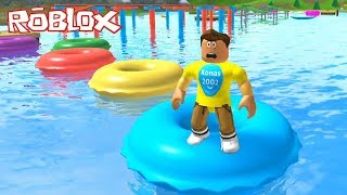 Roblox Escape Summer Camp Water Tubes Obby ! || Roblox Gameplay || Konas2002