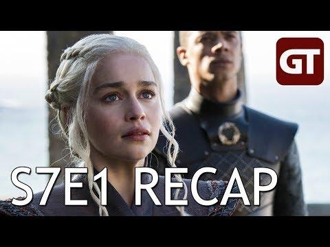 Game Of Thrones S7E1 Recap: Schiffstau Rund Um Dragonstone - GoT Talk German / Deutsch