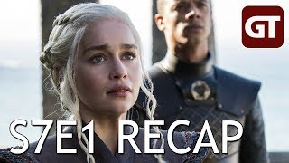 Thumbnail für Game of Thrones S7E1 Recap: Schiffstau rund um Dragonstone - GoT Talk German / Deutsch