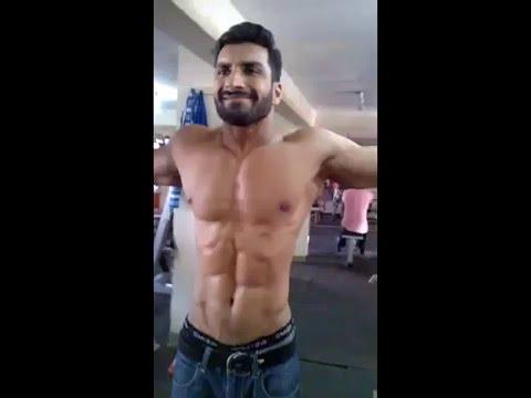 Arsalan Baig at World Gym