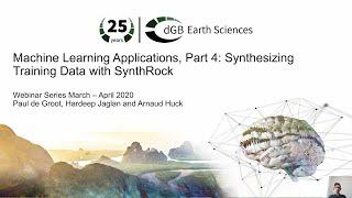 Machine Learning Webinars Part 4: Synthesizing Training Data with SynthRock