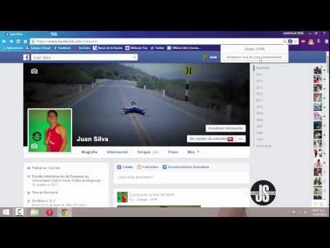 Como Hago Aparecer La Barra Lateral Del Chat De Facebook │Juansilvaperu