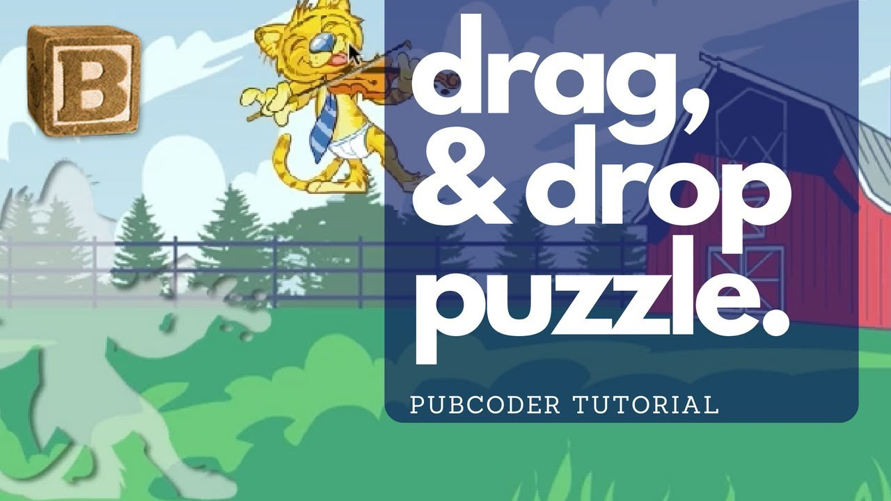 Pubcoder Tutorial: Creating a Drag & Drop Object