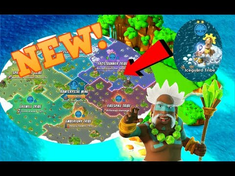 NEW TRIBAL SECTOR REGIONS! :: NEW SHARD MINE! :: BOOM BEACH