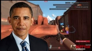 Repeat youtube video Barack Obama plays Team Fortress 2 (TF2)
