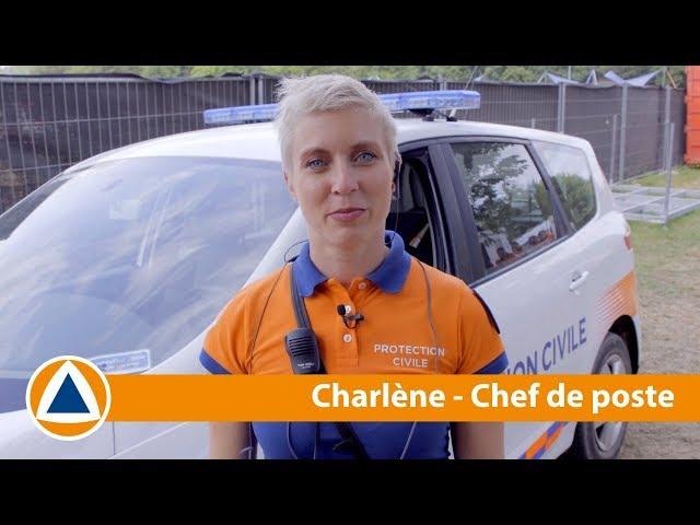 #NosMissions - Charlène est chef de poste à la Protection Civile