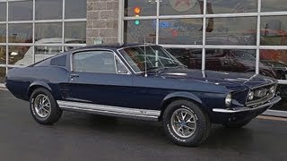 1967 Ford Mustang GT Fastback 390 V8 Four-Speed