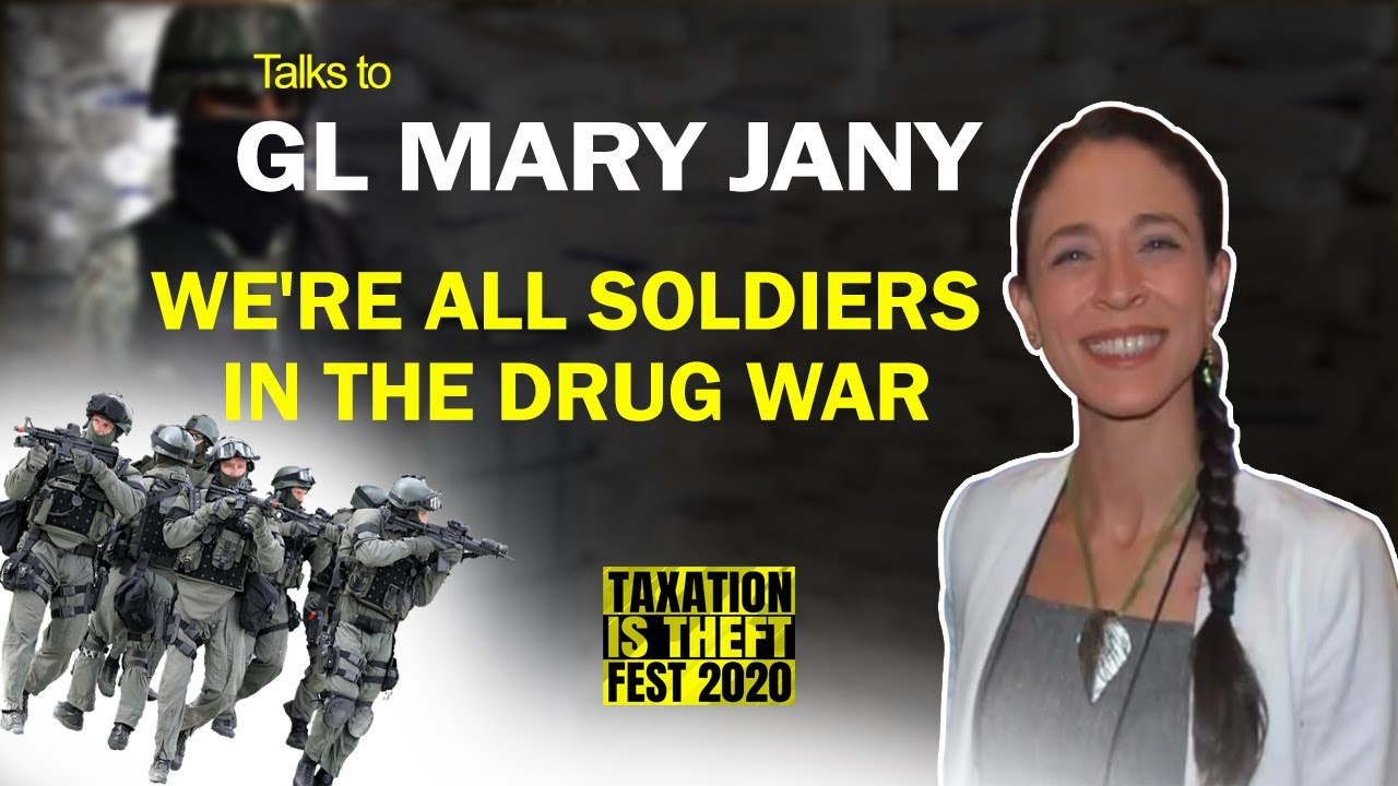 We're All Soldiers in the Drug War - GI Mary Jane talks about cannabis laws