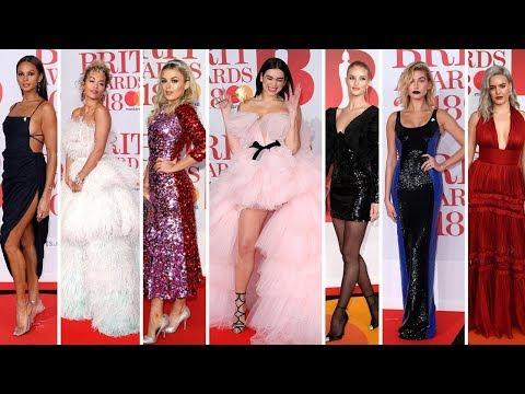 Brit Awards 2018 Celebrities with Red Carpet