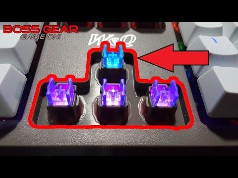 Bàn phím bán cơ cao cấp W&Q với 6 chế độ LED //W&Q Gaming keyboard with 6 light effect