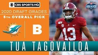 The Miami Dolphins draft their FUTURE in QB Tua Tagovailoa | 2020 NFL Draft