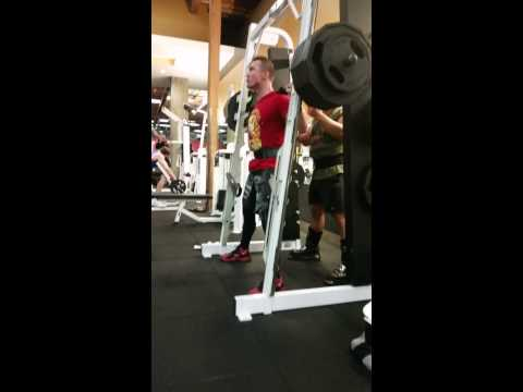 Smith Machine Squats