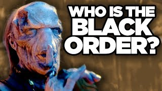 Infinity War - Thanos BLACK ORDER Explained