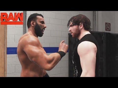 WWE-2K18-Dean Ambrose vs.