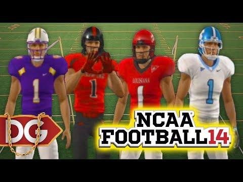 ALL UNIFORM PACKS NCAA FOOTBALL 14 & Dynasty Talk