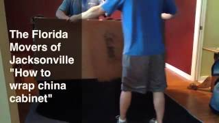 Movers Jacksonville Fl | How To Wrap A China Cabinet