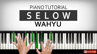 Wahyu - SELOW - Tutorial Piano Mengiringi Reggae | Belajar Piano Keyboard