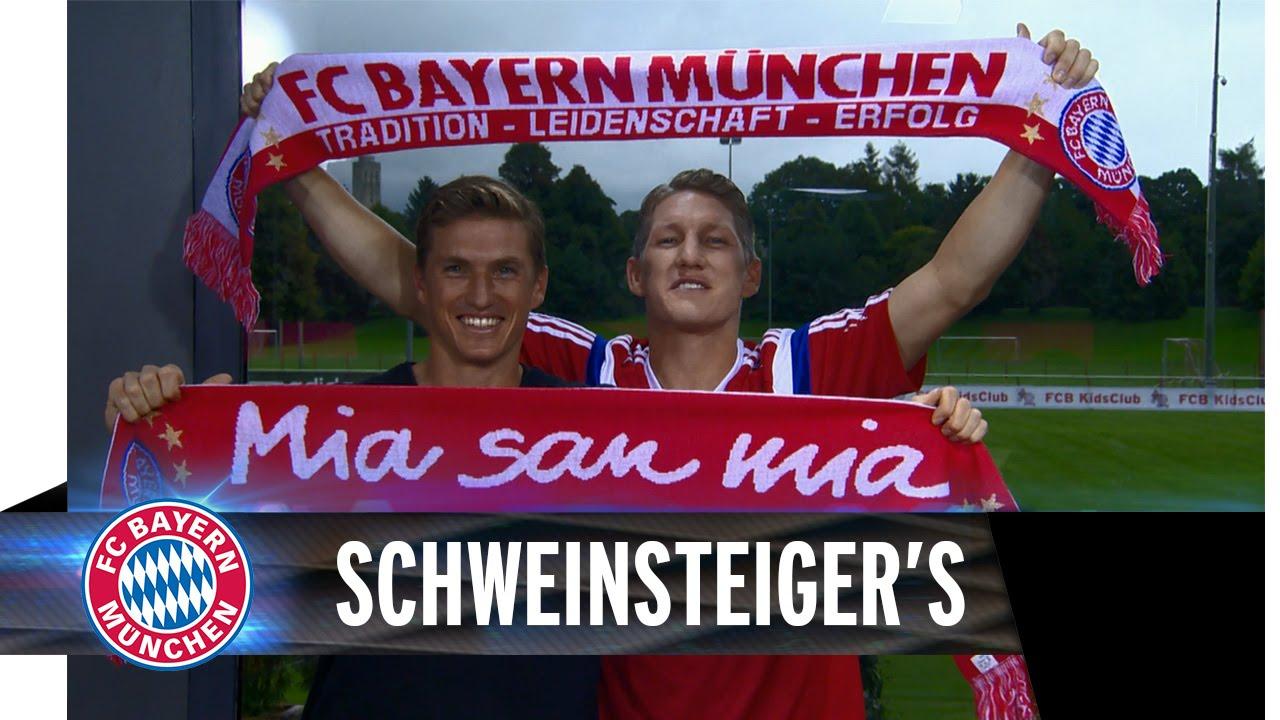 Schweinsteiger Brothers