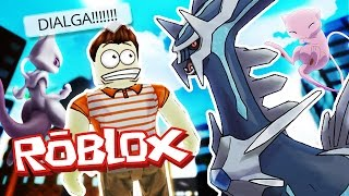 Roblox Adventures / Pokemon GO / FINDING DIALGA & MEW!