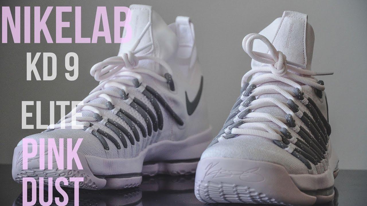 NikeLab Kd 9 Elite Pink Dust - YouTube