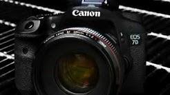 Canon 7D External Buttons Tutorial Training | Canon 7D Video Lessons DVD | Manual