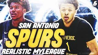 2021 NBA DRAFT! CUNNINGHAM OR JALEN GREEN?| NBA 2K20 SAN ANTONIO SPURS MYLEAGUE