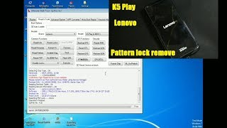 Lenovo a5 l18021 hard reset and remove pattern lock