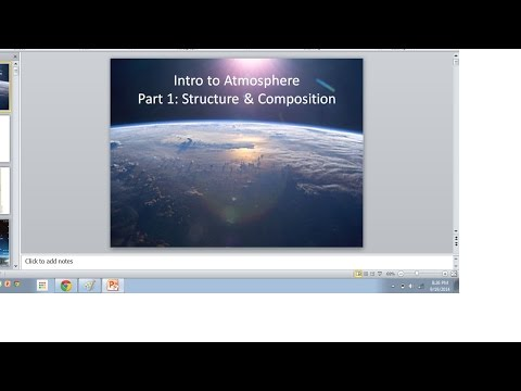 Structure and Composition of the Atmosphere lecture